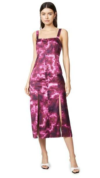 Cinq a Sept Tie Dye Alexa Dress in multi cover image