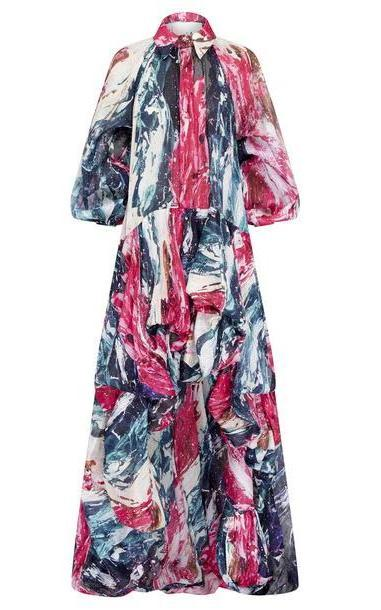 Aje Salt Lake Bubble Gown in multi cover image