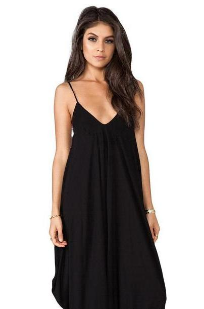 Indah Ivory All in One Jumpsuit in black cover image