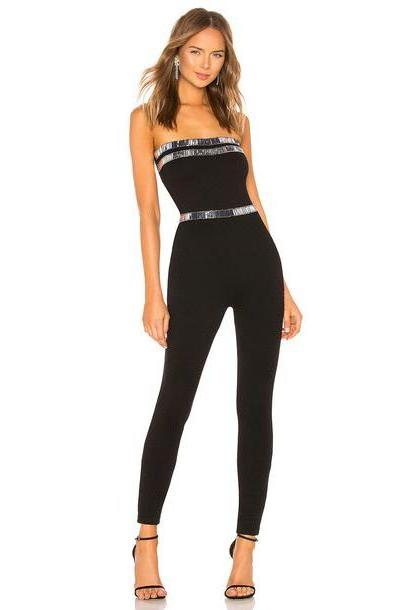 h:ours Beatrix Jumpsuit in black cover image
