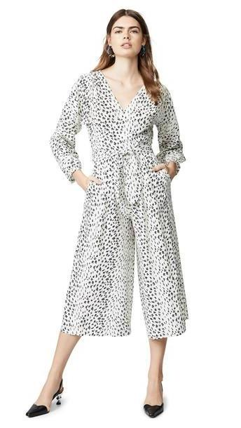 No.6 Romy Jumpsuit in black / white cover image