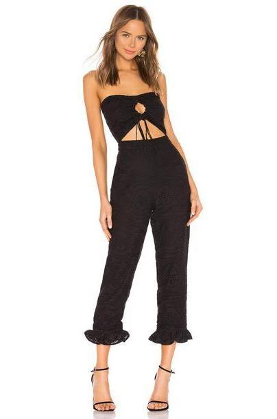Lovers + Friends Leona Jumpsuit in black cover image