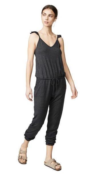 Chaser Tri-blend Cami Jumpsuit in black cover image