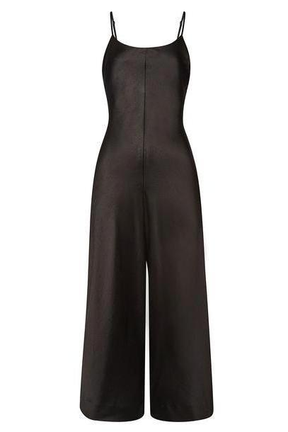 alexanderwang.t Wash & Go Jumpsuit  in black cover image
