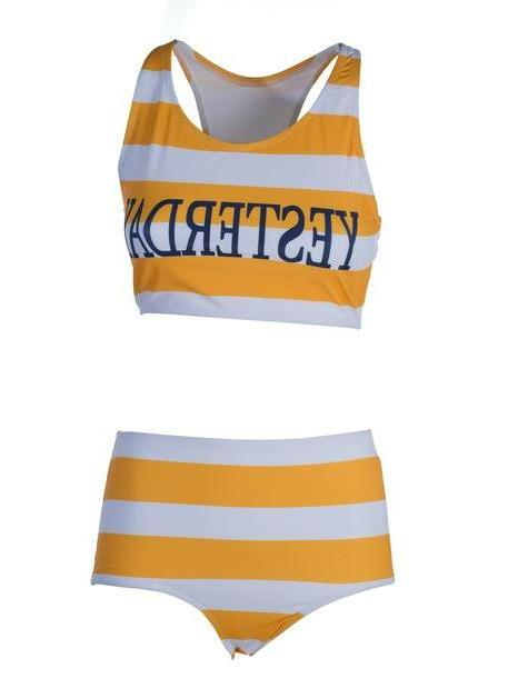 9f34c98165 Alberta Ferretti Yesterday Bikini in orange / yellow cover image