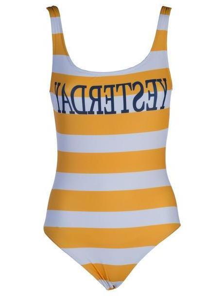 a50dcbdfc2 Alberta Ferretti Yesterday Swimsuit in orange / yellow cover image