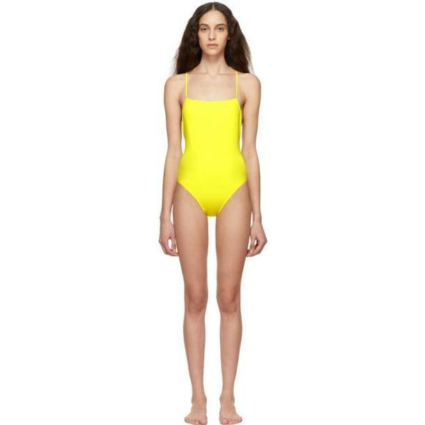 Lido Yellow Otto One-Piece Swimsuit cover image
