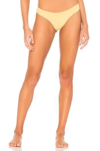 KYA Catalina Bikini Bottom in yellow cover image