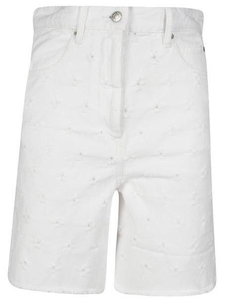 Isabel Marant Liny Distressed Denim Shorts cover image