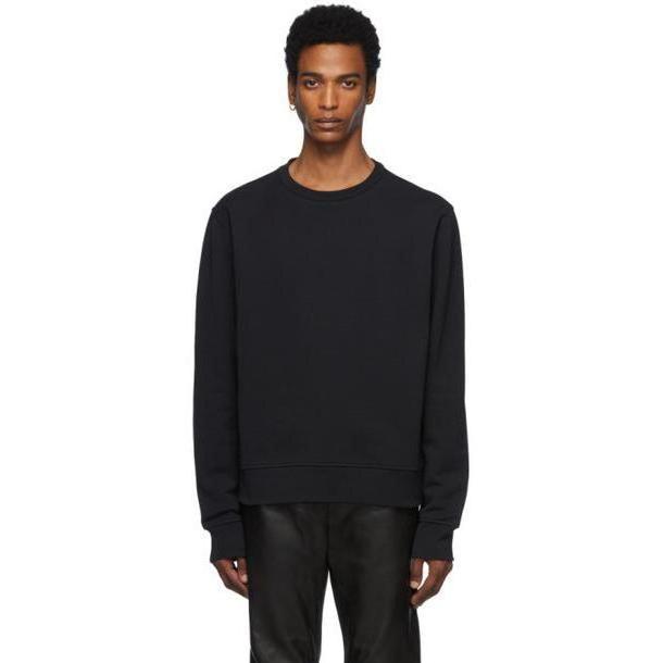 Maison Margiela Black Décortiqué Elbow Patch Sweatshirt cover image