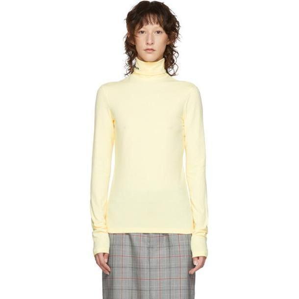 Calvin Klein 205W39NYC Yellow Logo Turtleneck cover image