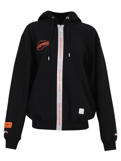 HERON PRESTON Oversized Sweatshirt in black cover image