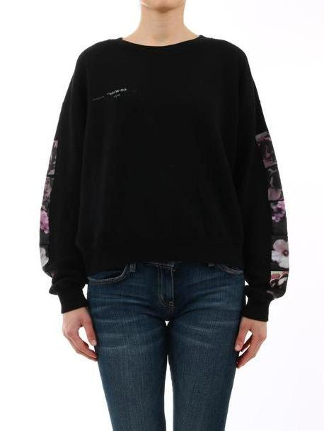 Off-White Floral Sweatshirt Black cover image