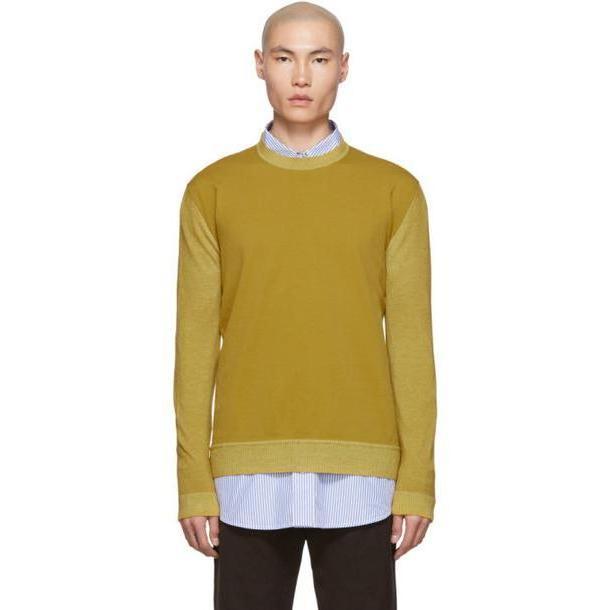 Marni Yellow Wool Sweater cover image