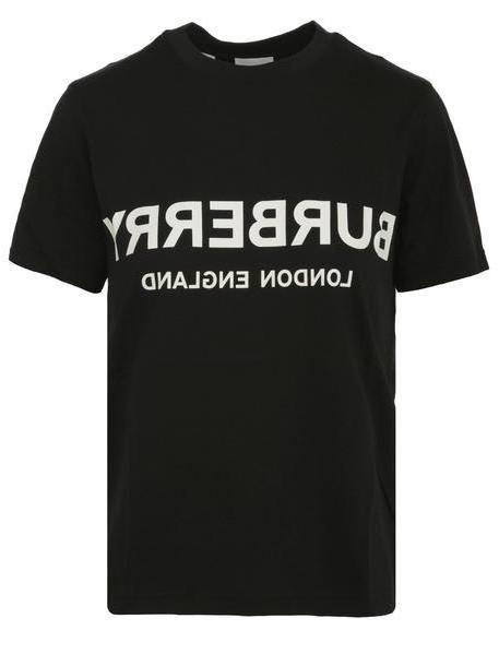 Burberry T-shirt in black cover image