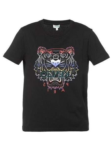 Kenzo Tiger T-shirt in black cover image