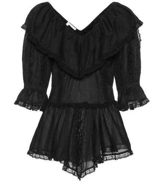 See By Chloé Cotton blouse in black cover image