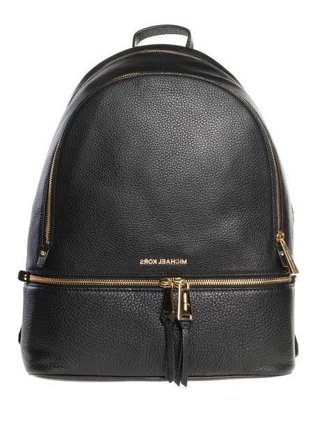 MICHAEL Michael Kors Rhea Backpack in black cover image
