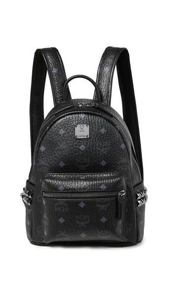 MCM Mini Stark Backpack in black cover image