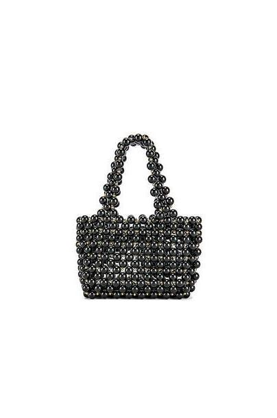 Lovers + Friends Meggy Beaded Purse in black cover image