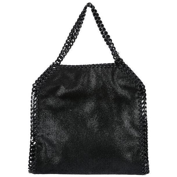 Stella McCartney Women's Handbag Shopping Bag Purse Tote Falabella Mini in nero cover image
