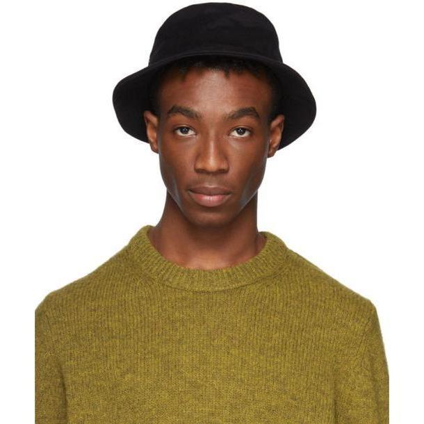 Acne Studios Black Twill Buk A Bucket Hat cover image