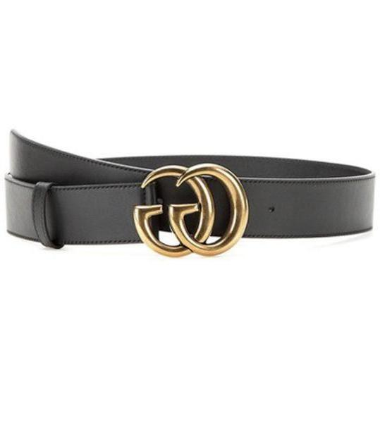 Gucci Leather belt in black cover image