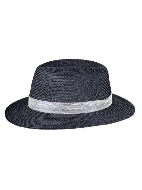 811d0634781 Maison Michel Woven Band Hat in black cover image