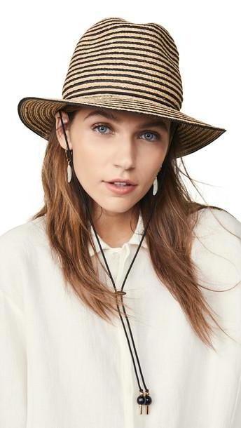 Gigi Burris Atlantic Hat in black / natural cover image
