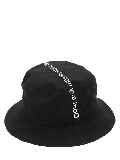 FAMT - FUCK ART MAKE TEES Don't Say Motherfucker Hat in black cover image