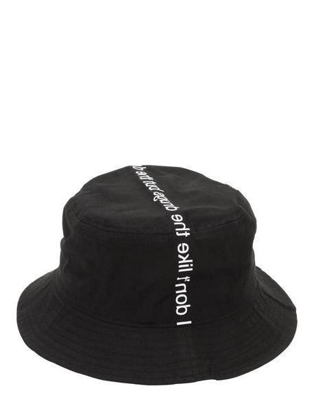 FAMT - FUCK ART MAKE TEES I Don't Like Drugs But Drugs Like Me Hat in black cover image