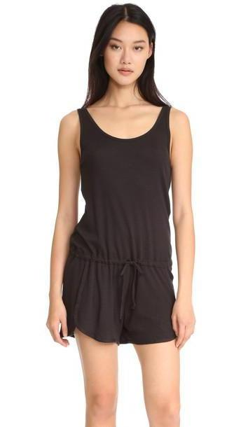 Yummie By Heather Thomson Thermal Romper - Black cover image