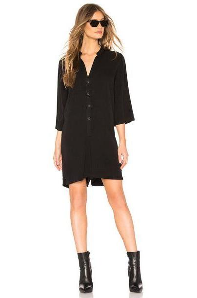 NSF Paola Short Jumper Romper in black cover image